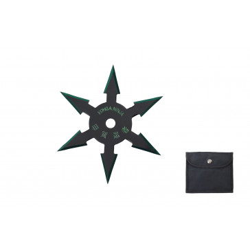6-Point Technicolor Throwing Star