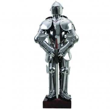 Mini Knight Armour Stainless Steel