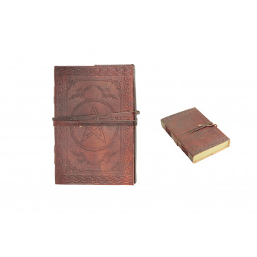 """4.8"""" x 7"""" Leather Journal"""