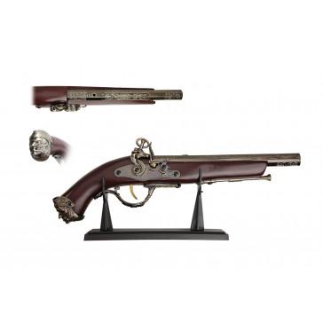 "16"" Antique Gun Replica w/ Display"