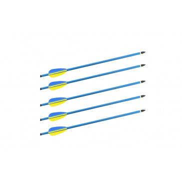"""5 Piece 14"""" 0.8MM Rifle Bolts For 150 Lb. Cross Bow"""