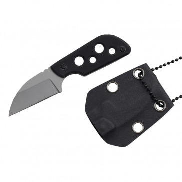 "4 1/8"" Tactical Neck Knife w/ Sheath"