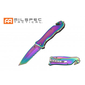 """8"""" Titanium Coated Pocket Knife"""