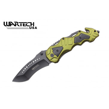 """8.5"""" Spring Assisted Rescue Knife"""