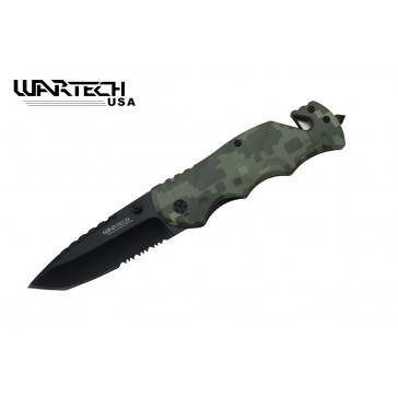 "8.25"" Spring Assisted Rescue Knife"
