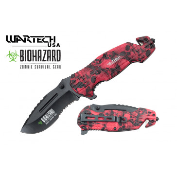 """8"""" Spring Assisted Rescue Knife"""