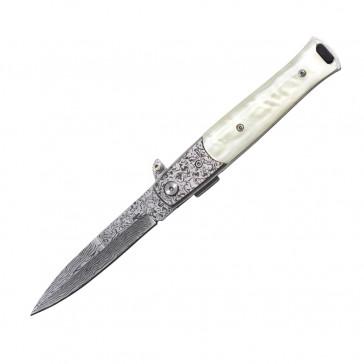 """8.5"""" Spring Assisted Pocket Knife"""
