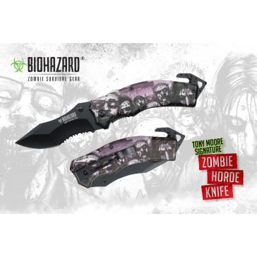 "8"" Tony Moore's Signature Zombie Horde Rescue Knife"