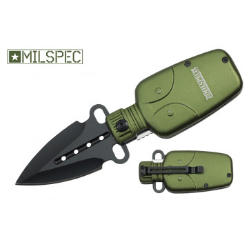 "6"" Water Canteen Pocket Knife"