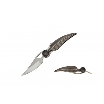 """5"""" Eagle feather knife"""