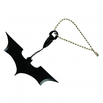 Black Batman Necklace Knife