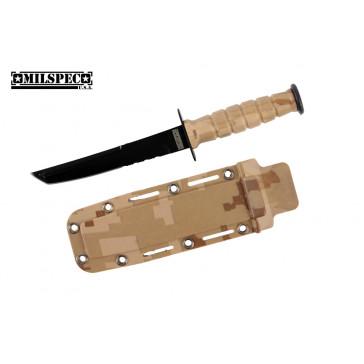 "6"" Tanto Neck Knife w/Sheath (Desert Camo)"
