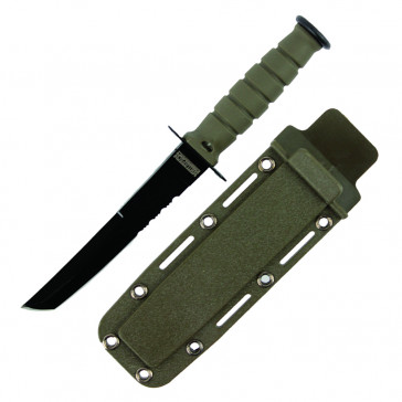 "6"" Tanto Neck Knife w/Sheath (Green)"