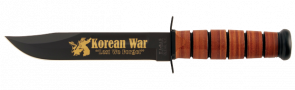 KOREAN WAR, USMC, INCLUDE BROWN LEATHER SHEATH