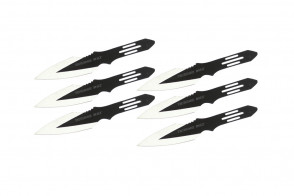 6 Piece Thunder Bolt Throwing Knive Set