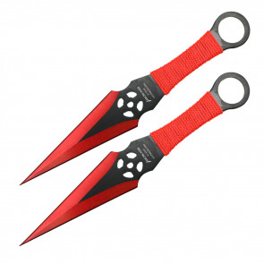 """9"""" Technicolor Throwing Knives"""