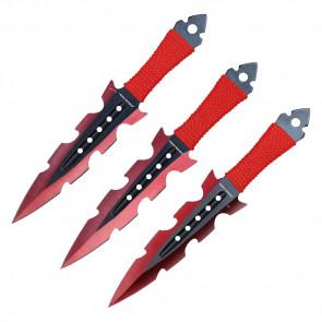"""7.5"""" 3 PC SET THROWING KNIFE"""