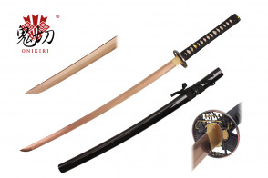 "41.5"" Black Katana w / Rose Gold Blade"