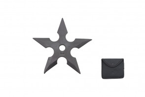 "5"" Rubber Throwing Star"