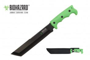 """14 1/4"""" Zombie Hunting Knife w/ Serration"""