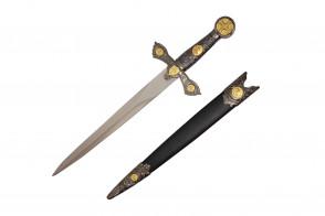 "13 7/8"" Medieval Dagger"