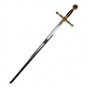 "45"" Red And Gold Masonic Sword"