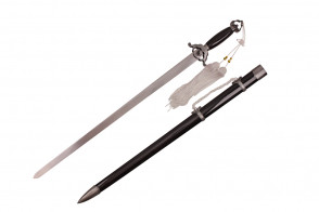 """39.5"""" Black Tai Chi Sword"""