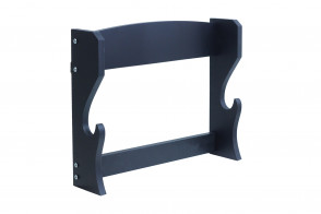 Black Single Piece Wall Stand