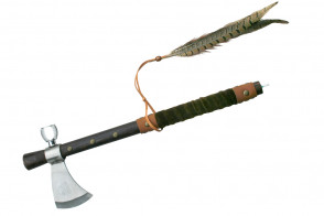 """19"""" Tomahawk w/ Functional Piece Pipe"""