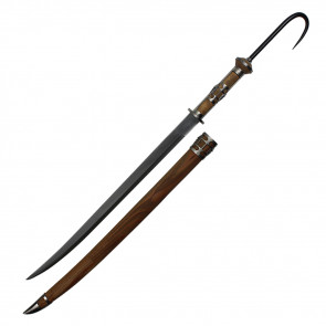 "39 5/8"" Pirate Sword w/ Hook"