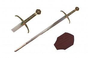 """40"""" Robin Hood Sword (Sword & Plaque)"""