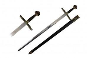 "40"" Karolus Divus Sword (Sword & Plaque)"