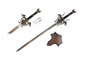 """43"""" Double Dragon Sword"""