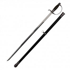 German Sword With Black Scabbard