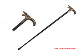 "36.5"" Walking Cane - Dragon"