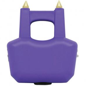 "3.5"" 20-Mill Volt Spiked Jogger Purple Stun Gun w/ LED & Case"