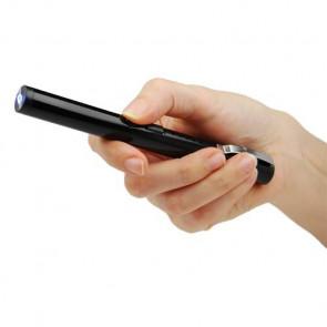 """6.5"""" 40-MillIon Volt Rechargeable Black Stun Pen"""