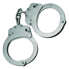 Chained Handcuffs w/ Carrying Case (Chome)
