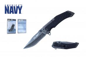 """8 3/8"""" Officially Licensed U.S. Navy Pocket Knife"""