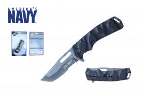 """8 1/4"""" Officially Licensed U.S. Navy Pocket Knife"""