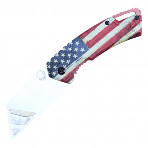 "7"" Box Cutter (American Flag)"
