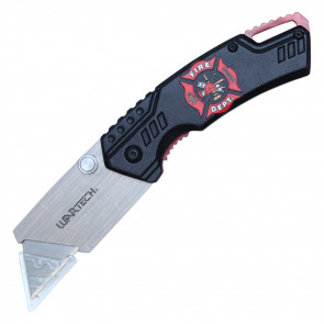 "7"" Box Cutter (Fire Fighter Emblem)"