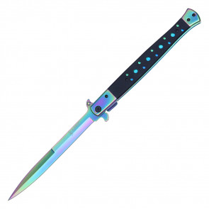 "13"" RAINBOW POCKET KNIFE"