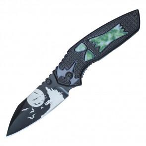 "7 3/4"" Halloween Pocket Knife"