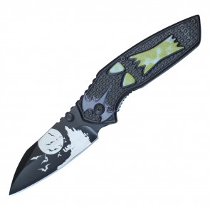 "7 3/4"" Halloween Pocket Knife"