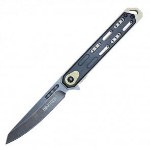 """8.5"""" Spring Assisted Folding Knife (Stonewashed)"""