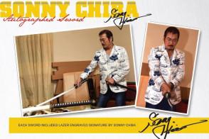 "42"" Hattori Hanzo-Sonny Chiba Signature Series AUTOGRAPHED Kill Bill Hand Forged Battle Ready Samurai Katana - Budd's Sword"