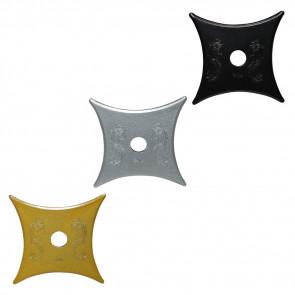 3PCS SET IN GD/CH/BK  MOON STAR