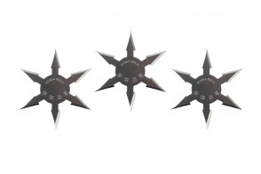 Chrome Throwing Stars