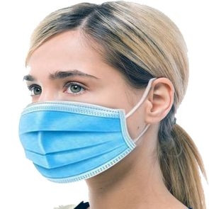 3-Ply Disposable Mask - Deluxe